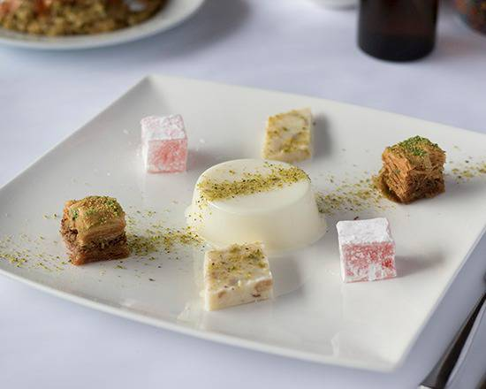 Combination of a Fine Selection of Desserts